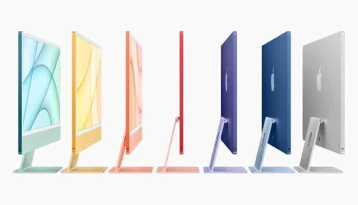 iMac M1 Farben