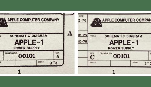 Apple-1 Restauration
