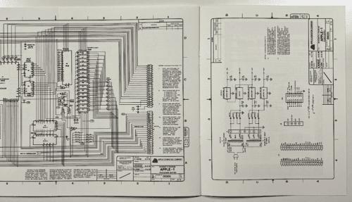 Apple-1 Schaltplan