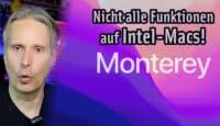 Apfeltalk Video: Nicht alle Funktionen kommen auf Intel-Macs!