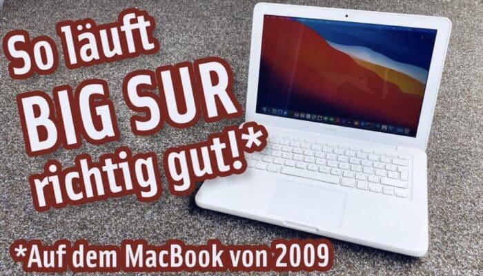 Apfeltalk Video Big Sur MacBook