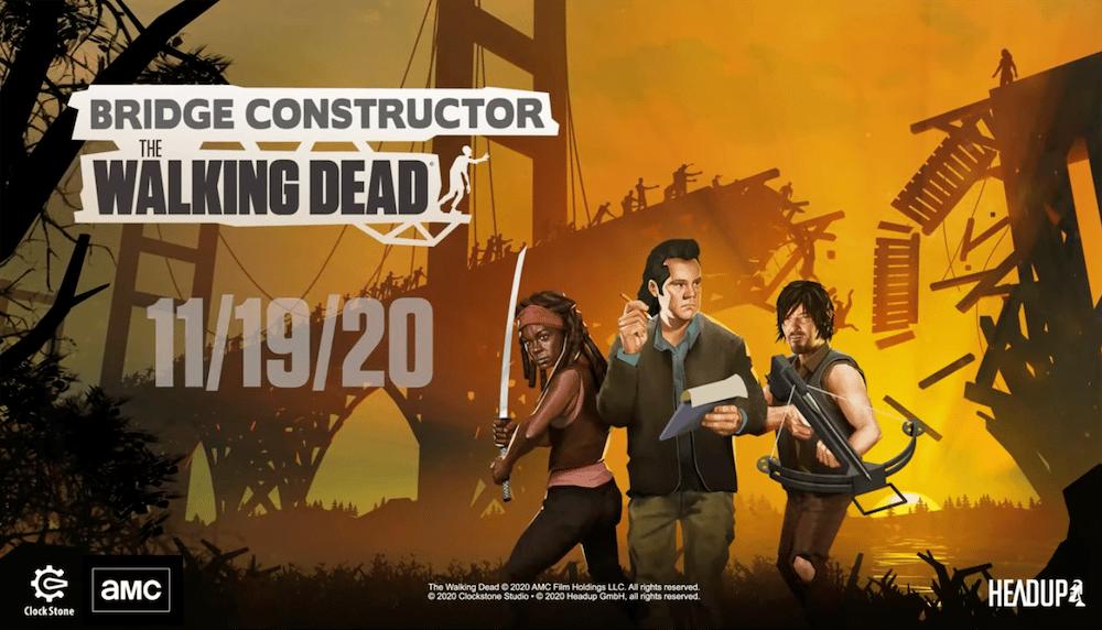 Bridge Constructor Walking Dead