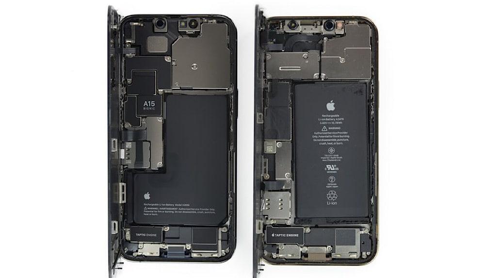 zerlegt iphone 13